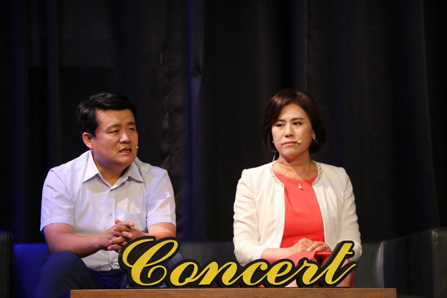 문형록 대표이사, 김정미 대표이사