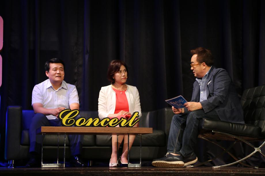 문형록 대표, 김정미 대표, 김영세 회장