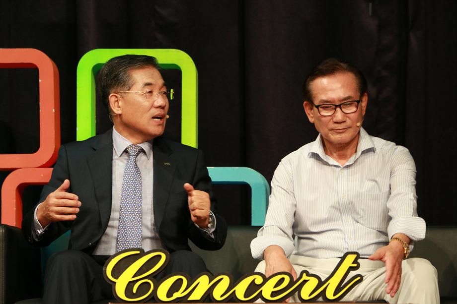 이의현 대표이사, 김홍렬 회장