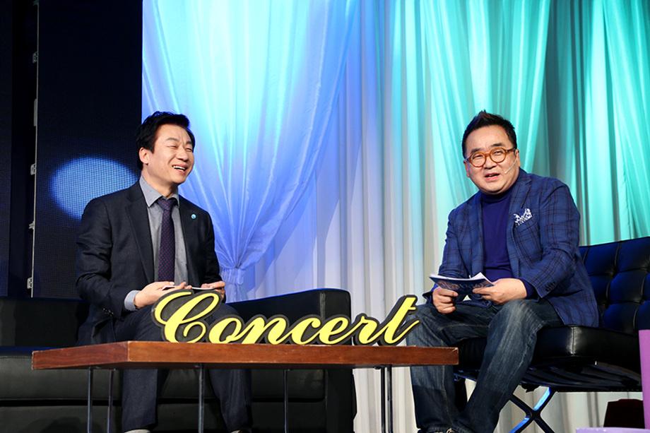 박상욱 대표이사, 김영세 회장