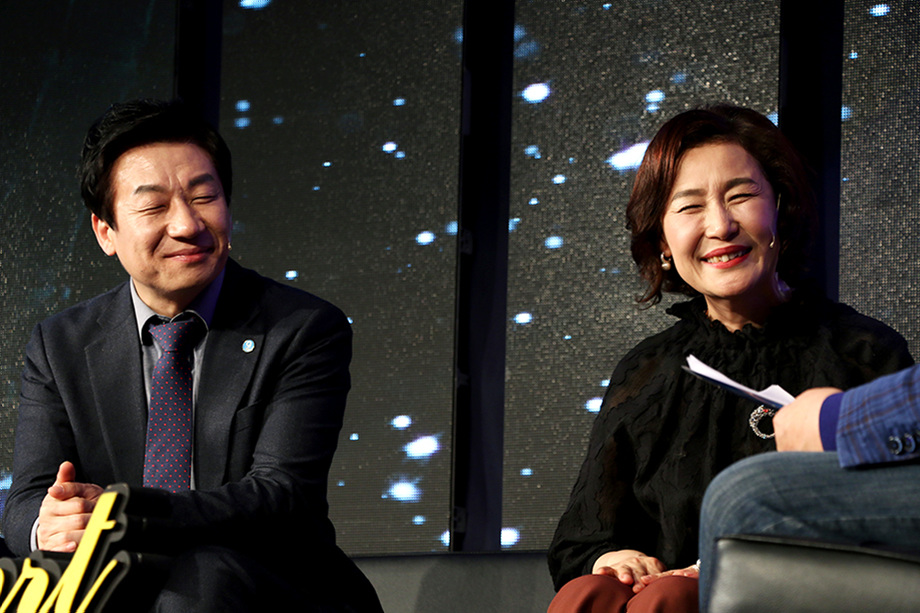 박상욱 대표이사, 남미경 대표이사