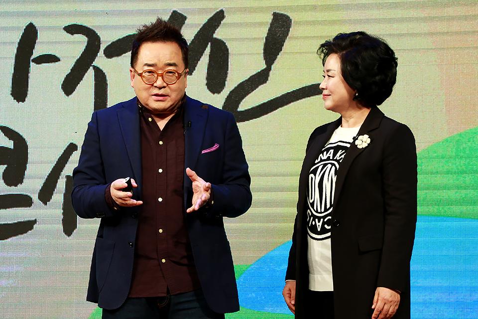 박효순 대표, 김영세 회장