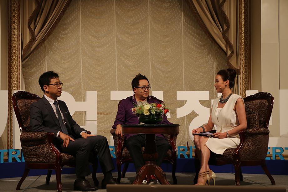 김철회 대표, 김영세 회장