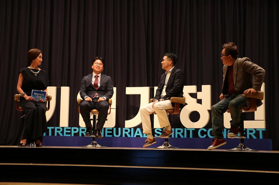 모상현 대표, 송수용 대표, 김영세 회장