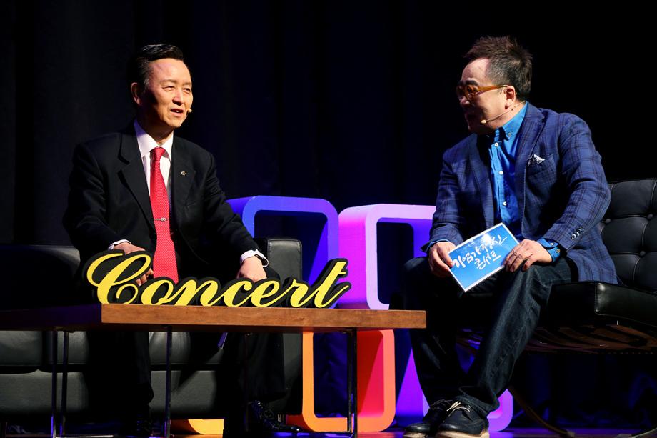 김시동 대표이사, 김영세 회장