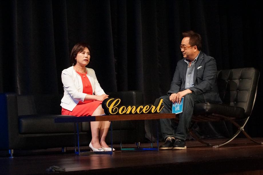 김정미 대표이사, 김영세 회장