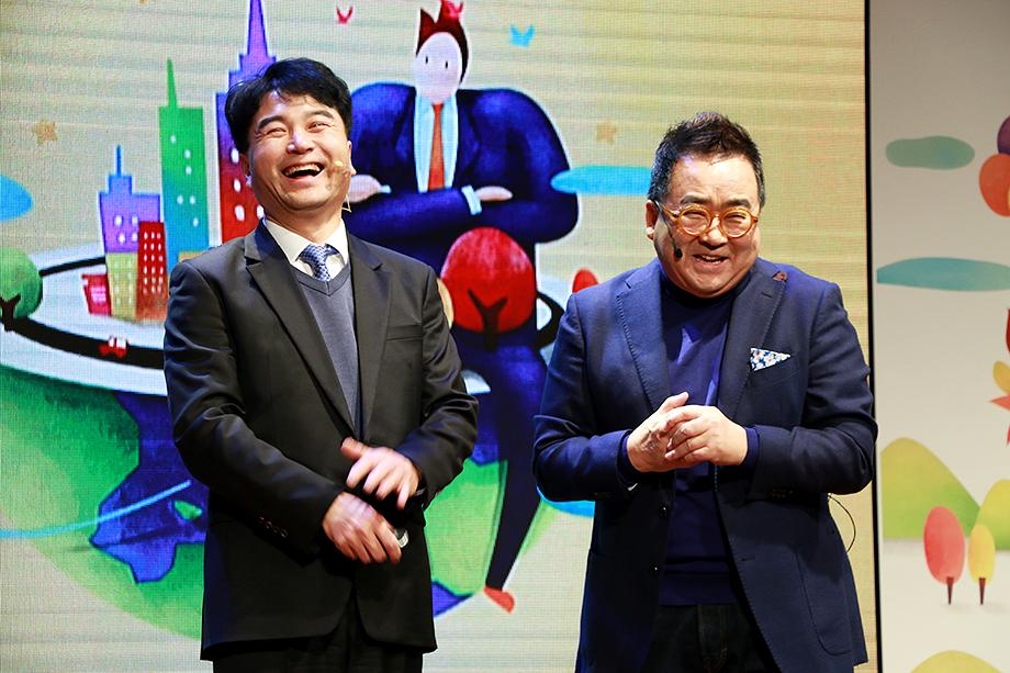 김태호 대표이사, 김영세 회장
